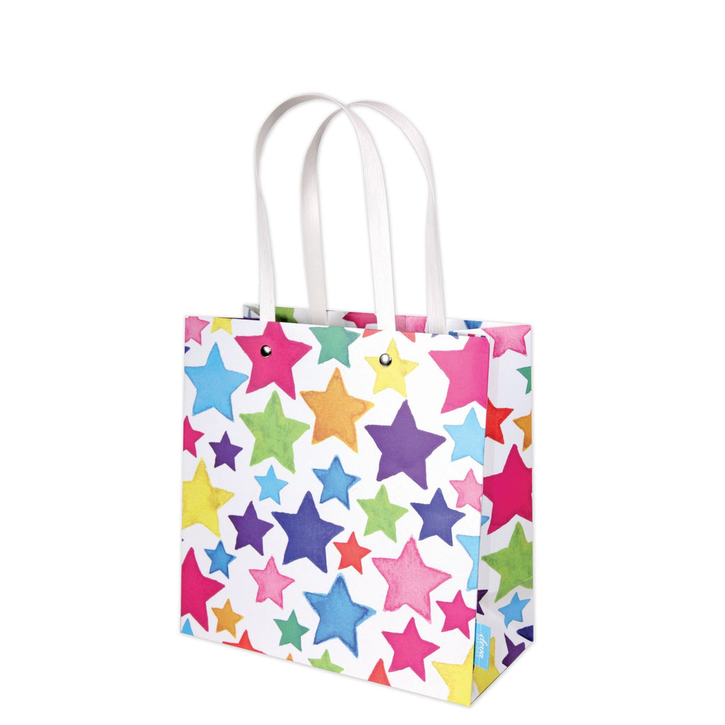 Rainbow Stars Medium Gift Bag