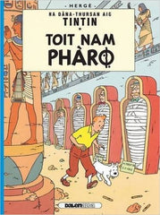 Tintin Toit Nam Pharo (Cigars of the Pharaoh in Gaelic)