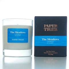 Paper Tiger The Meadows Lemongrass and Lavender Large Candle