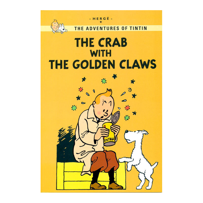 Tintin Young Reader: The Crab With The Golden Claws