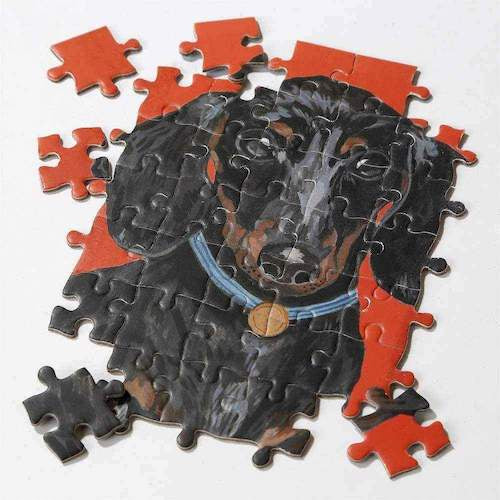 Double Sided Dachshund Puzzle