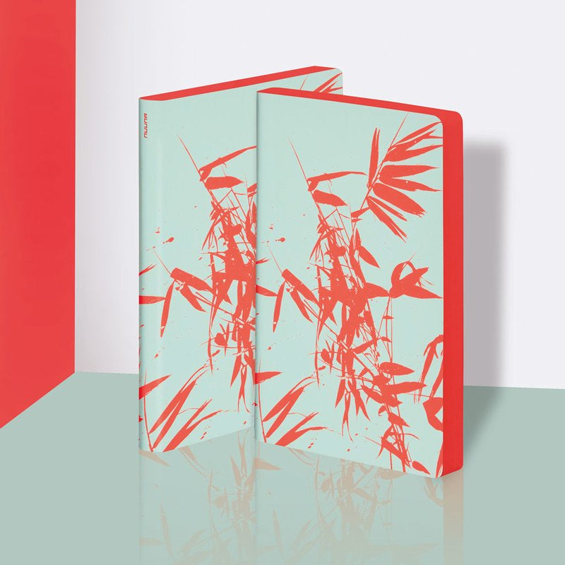 Colour Clash Notebook Large Bamboo