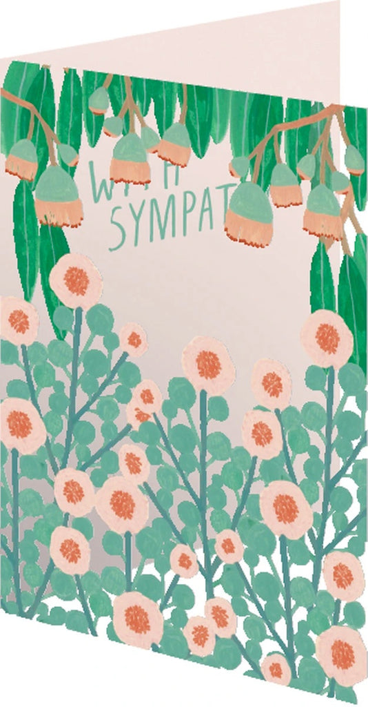 Sympathy Bouquet Lasercut Card