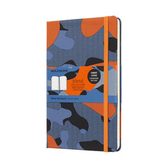 Nomad Blend Orange Camouflage Moleskine Notebook