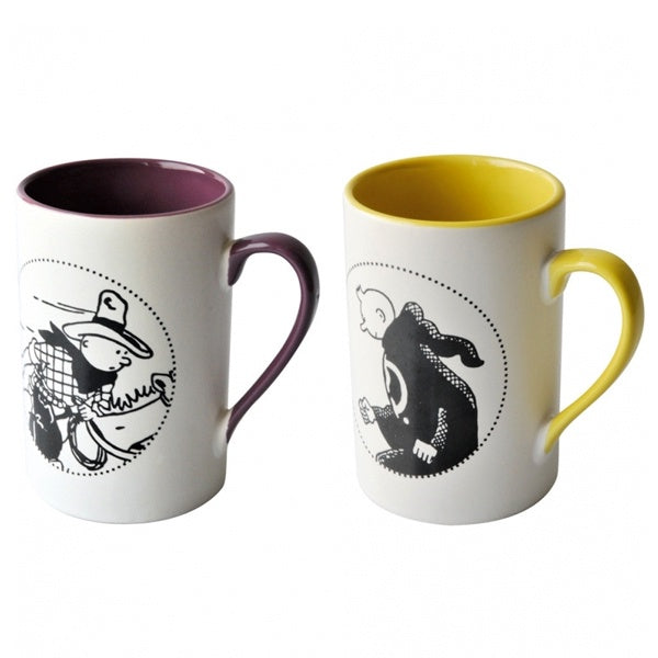 Mug Duo Yellow Purple America Disguise