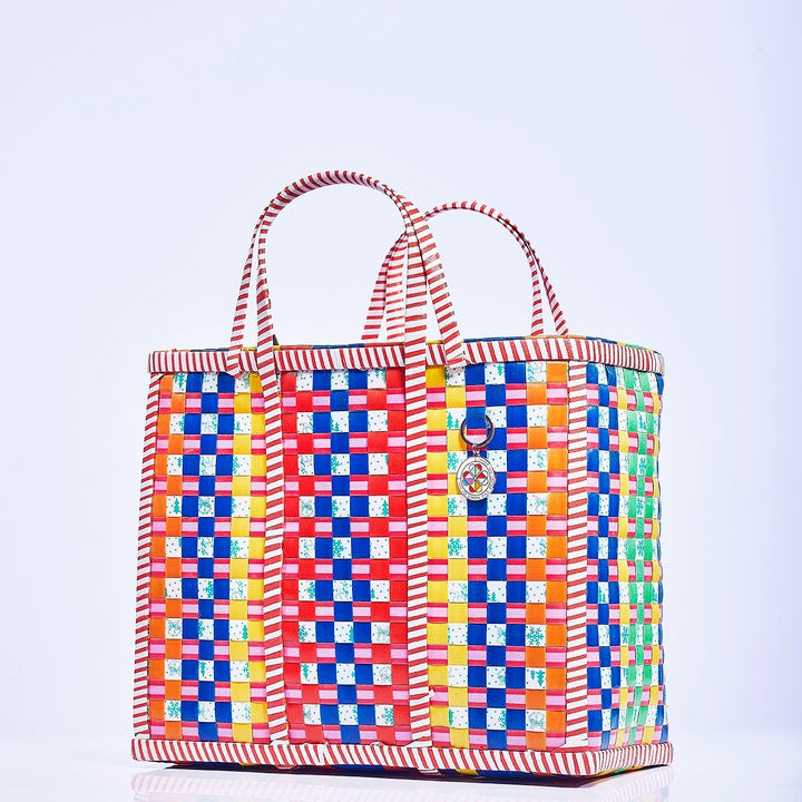 Large Mowgs Recycled Hand Woven Wag Basket