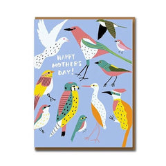 Flock for Mum Card