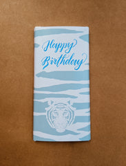 Salted Caramel Milk Chocolate Personalised Happy Birthday