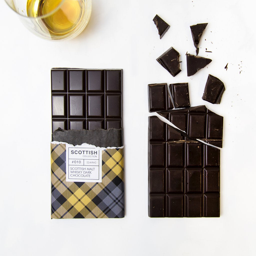 Dram Of Whisky Dark Chocolate Bar 100g