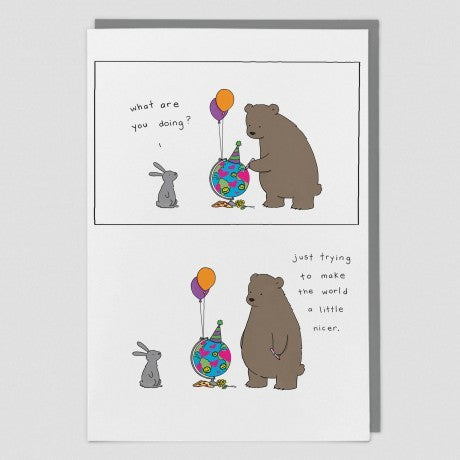 Make the World a Little Nicer Card