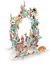 Frosty Forest Wreath Advent Calendar