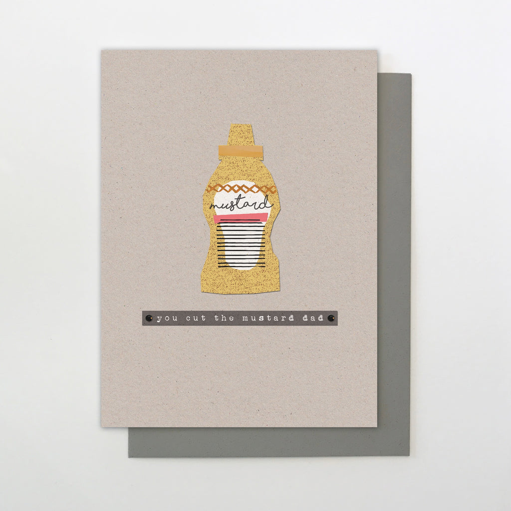 Cut the Mustard Father's Day Card