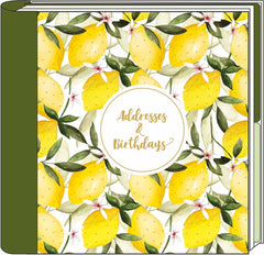 Oranges and Lemons Address Book
