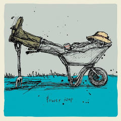 Power Nap Wheelbarrow Card