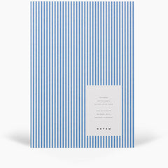 Vita Softcover Notebook Medium, Blue Lines by Notem
