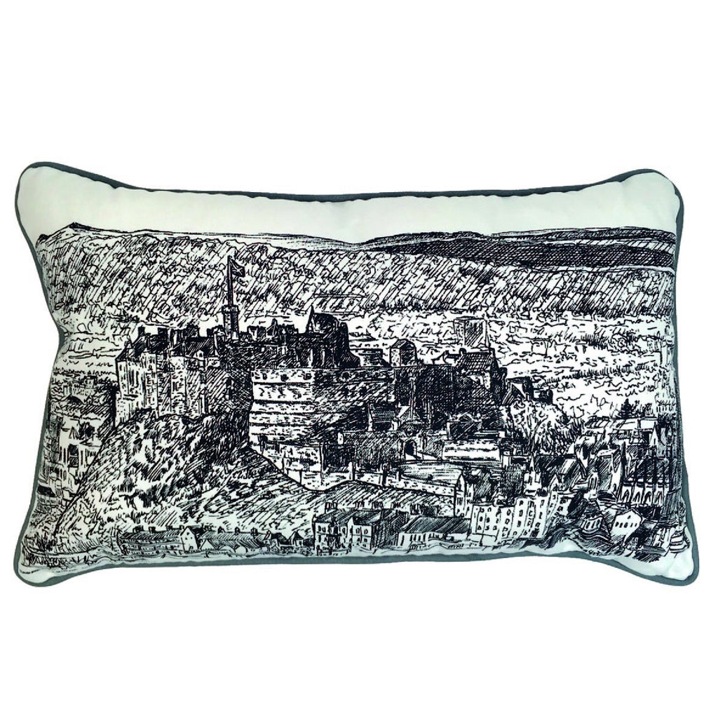 Edinburgh Castle Cushion