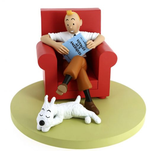 Tintin At Home Scene