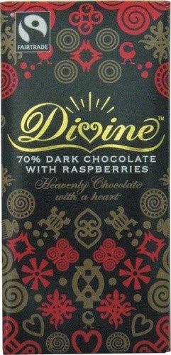 Divine Raspberry Dark Chocolate