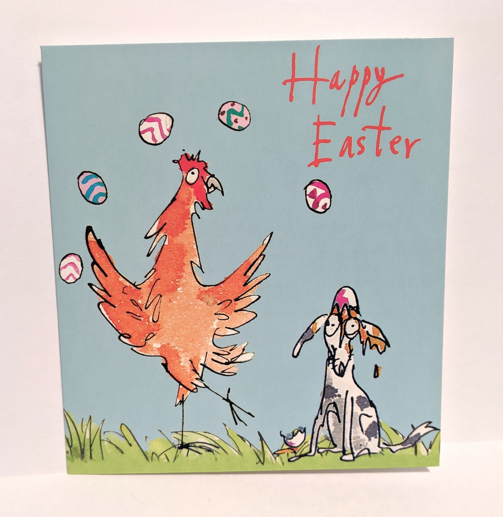 Happy Easter Quentin Blake Pack of 5 Cards
