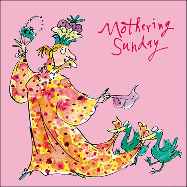 Mothering Sunday Quentin Blake Card
