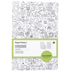 A5 Notebooks Set of 2 Monsters Colouring Activity