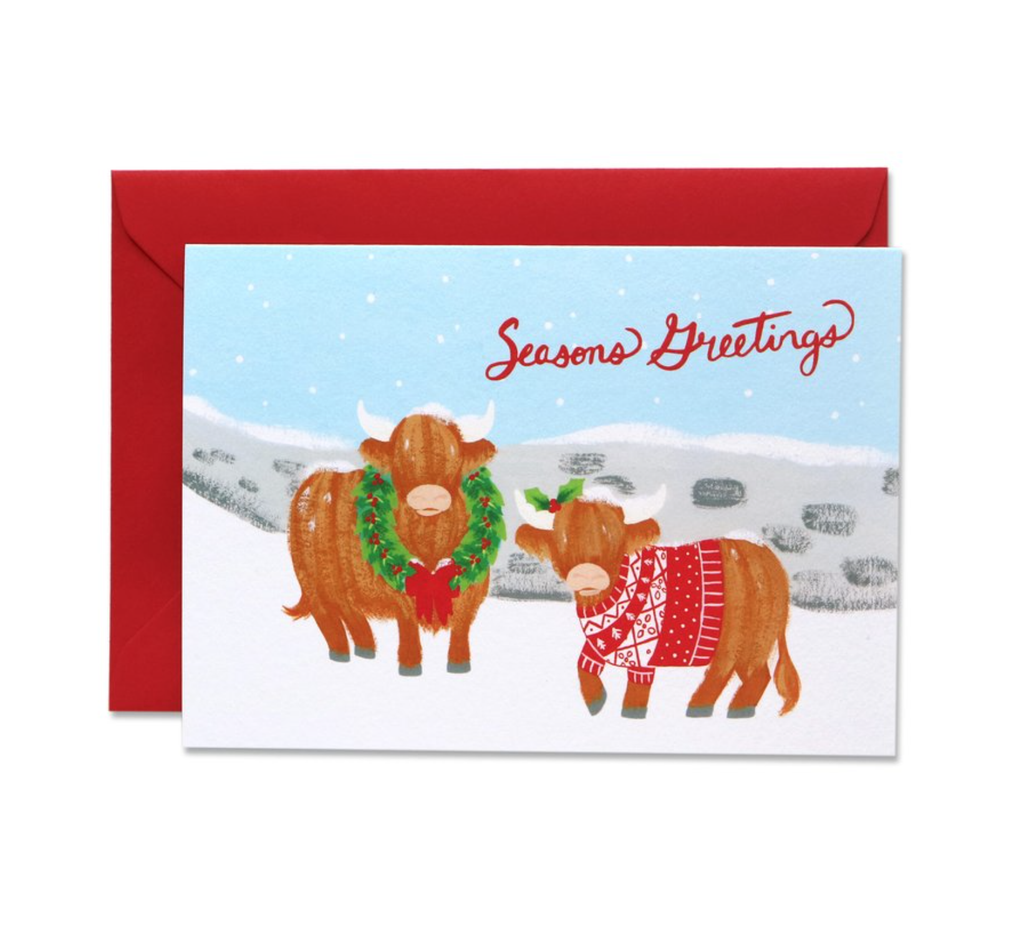 Christmas Coos Card