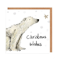 Paddy Christmas Wishes Card by Catherine Rayner
