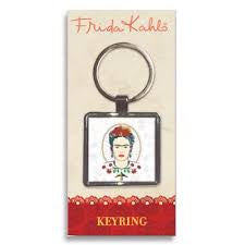 Frida Kahlo Head Keyring