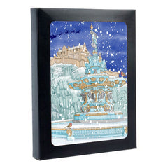 Ross Fountain Edinburgh Box of Christmas Cards