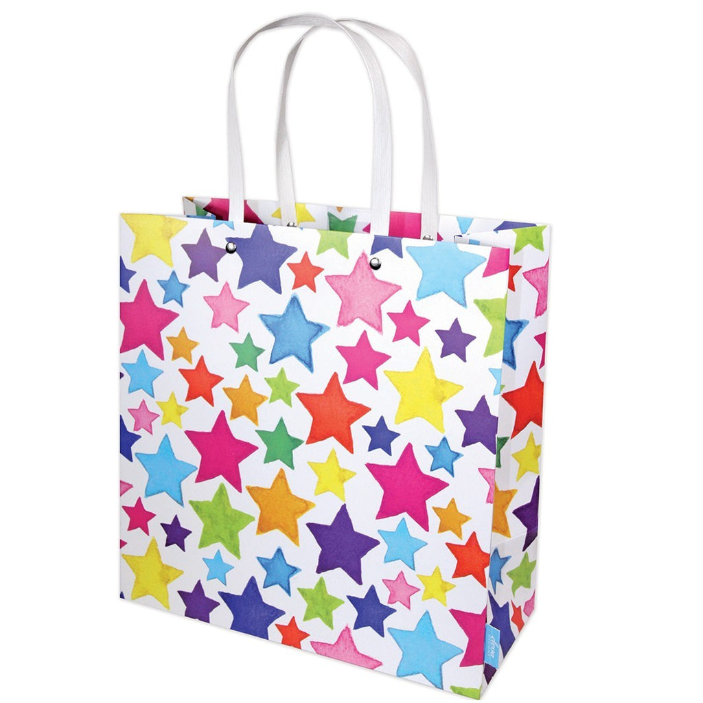 Rainbow Stars Shopper XLarge Gift Bag