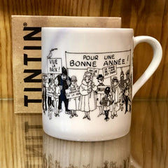 Tintin Holiday Greetings Mug