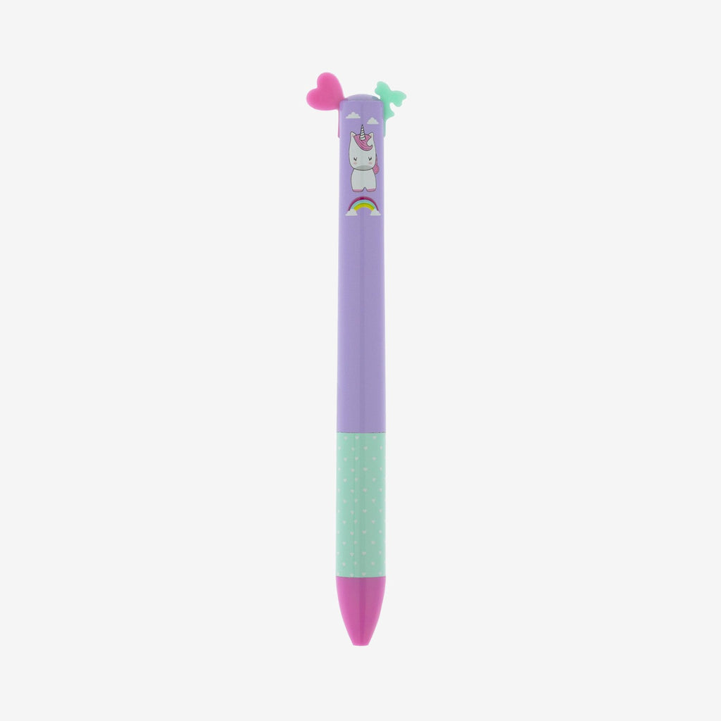 Unicorn Click & Clack Two Colour Pen