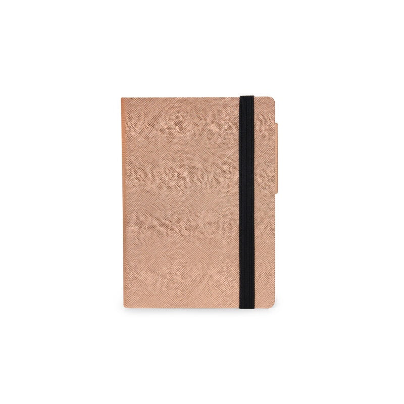 Small Daily Diary 2021 Metallic Rose Gold