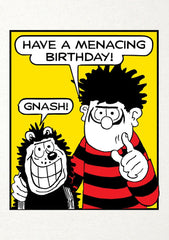 Have a Menacing Birthday Dennis the Menace Birthday Card