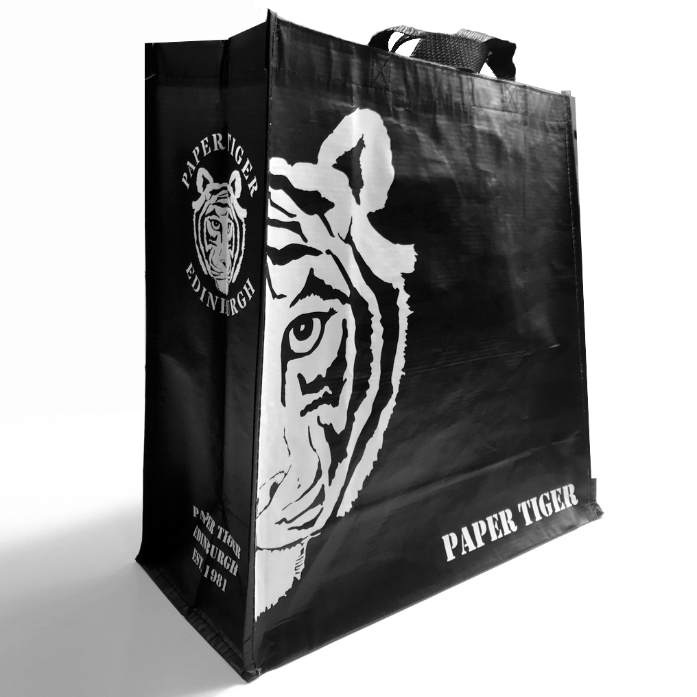 Paper Tiger Recycled Plastic Bag For Life