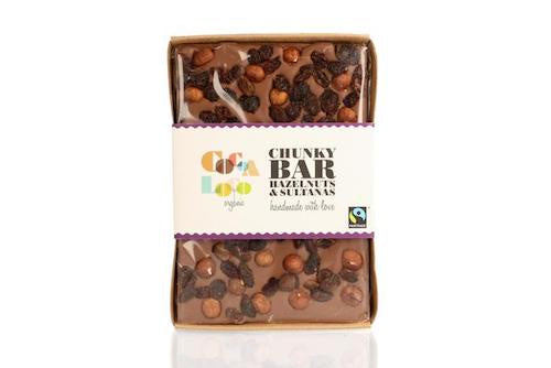 Milk Chocolate Fruit and Nut Chunky Bar