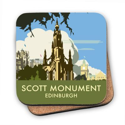 Scott Monument Edinburgh Coaster