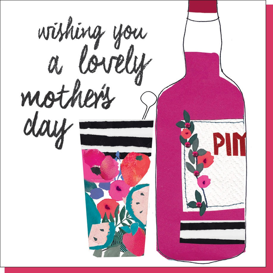 Pimm's for Mum Mother's Day Card