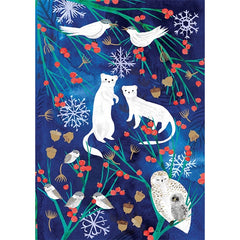 Festive Minks Card Pack