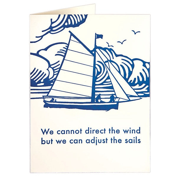 We Cannot Control the Wind Card