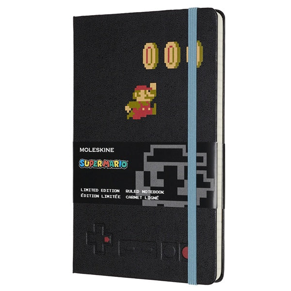 Moleskine Limited Edition Super Mario In Motion Ruled Notebook