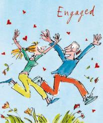 Quentin Blake Engagement Card