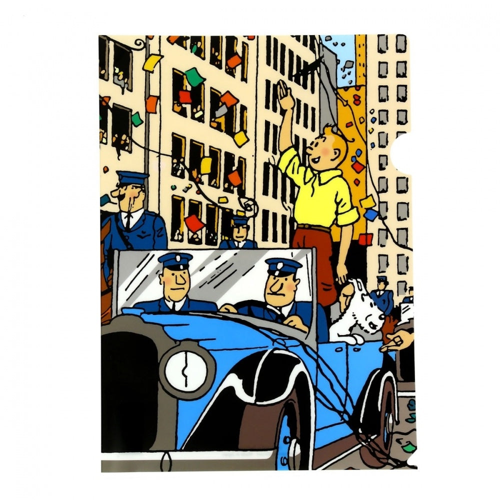 Tintin in New York A4 Plastic Sleeve