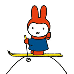Miffy Skiing Pack of 8 Cards