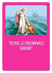 Magic Surfboard Bible Stories Card