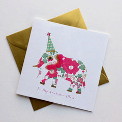 To My Fantastic Mum Elephant Card