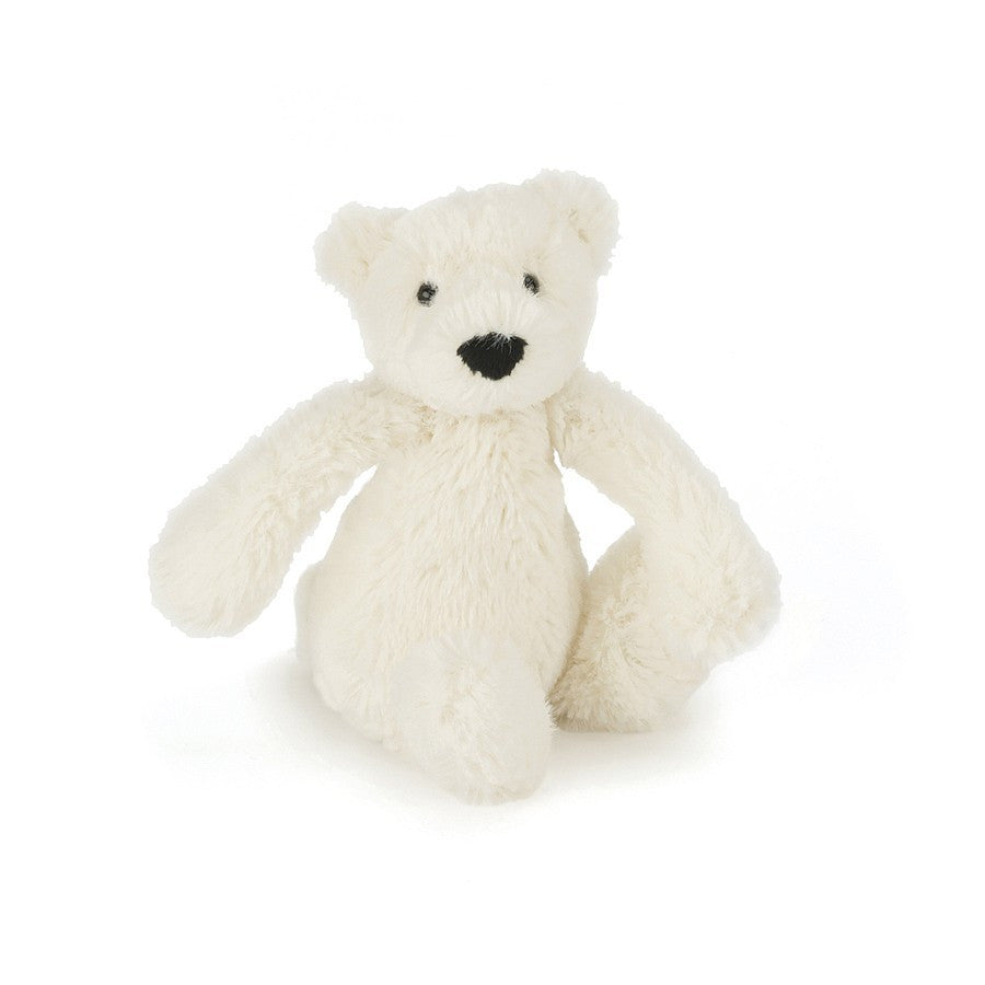 Baby Bashful Polar Bear 13cm