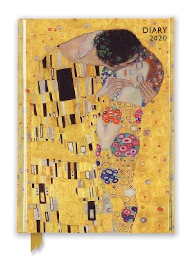 Gustav Klimt- The Kiss 2020 Diary