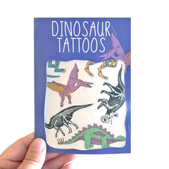Dinosaur Transfer Tattoos