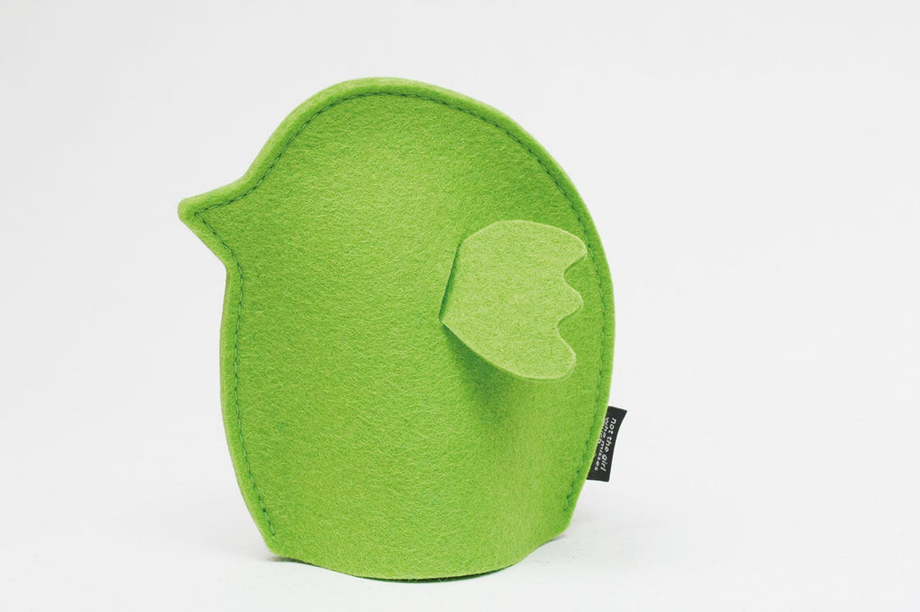 Green Chick Felt Egg Cosy